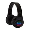 אוזניות BLUETOOTH עם תאורת לד CROWN
