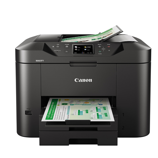 מדפסת הזרקת דיו משולבת + Canon WIFI