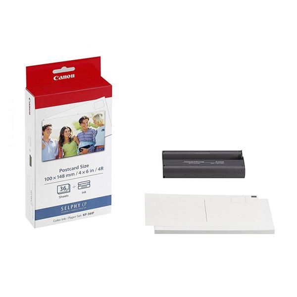 תמונה של ערכת הדפסה ל-36 דפים למדפסת ניידת CANON CP1300